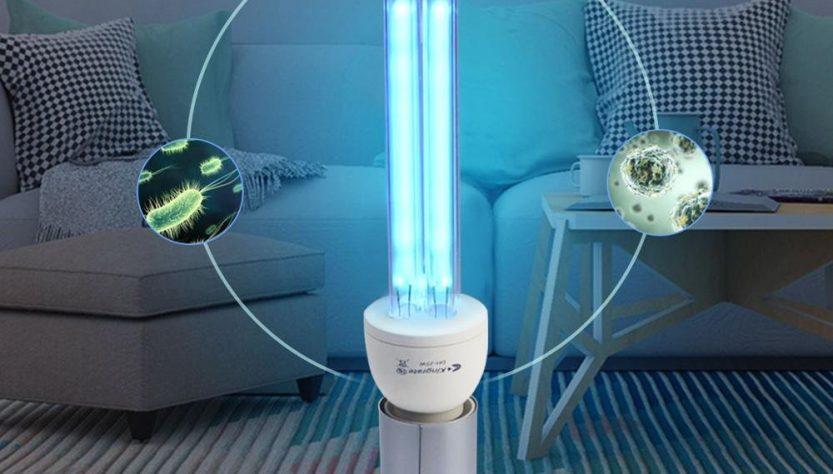 Бактерицидная лампа в доме