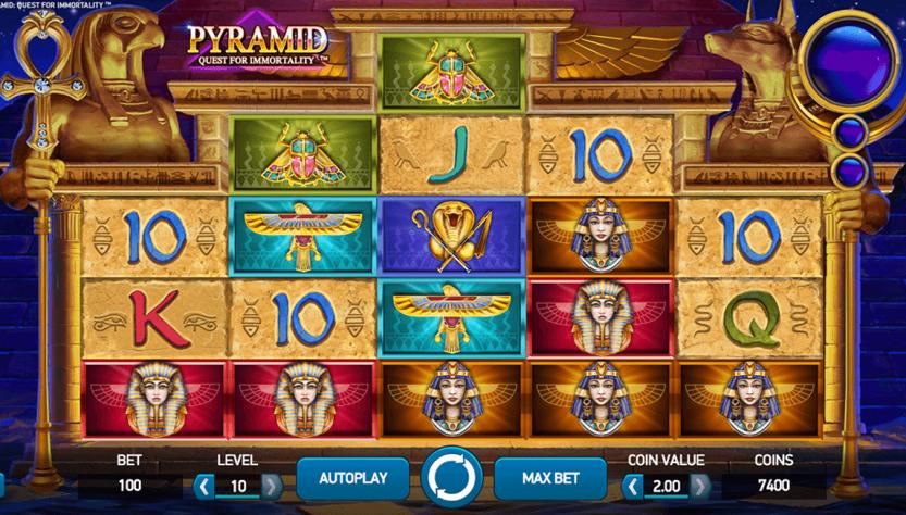 онлайн-казино Пирамида: поиски бессмертия