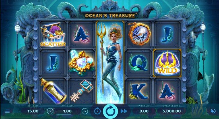 игровой слот: Сокровище океана